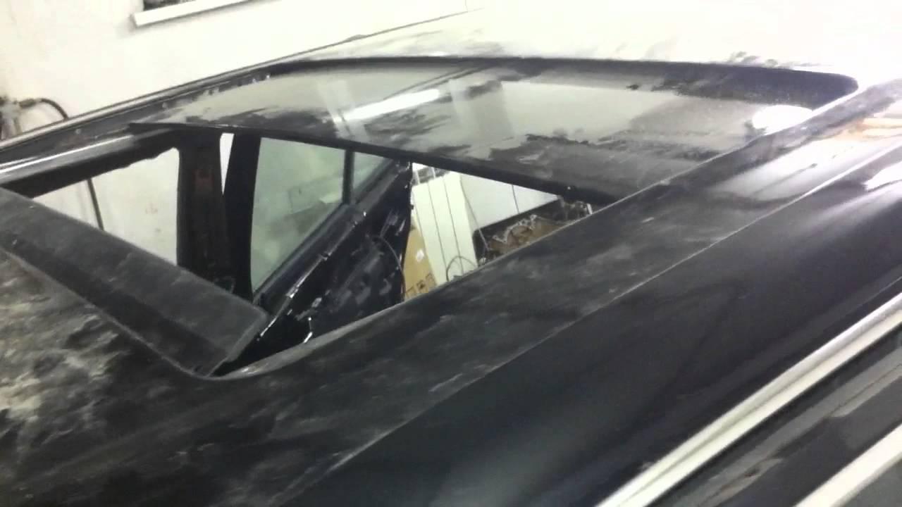 W126 работа люка
