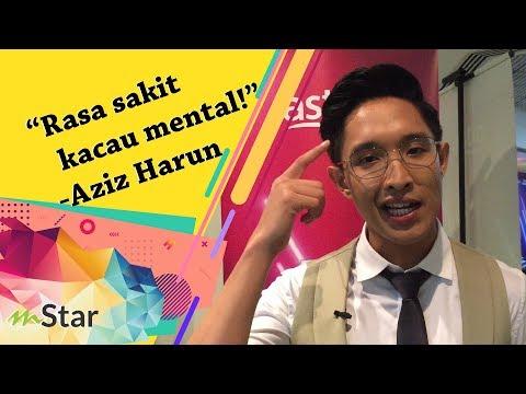 """""""Michael Ang je yang nak pergi tandas"""" - Aziz Harun yakin dapat sokongan peminat"""