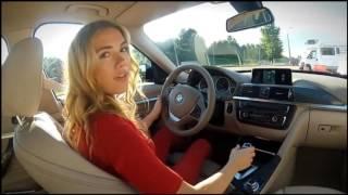 Новый BMW 3 серии GT полный HD - Тест-драйв Насти Гир Car Promotions