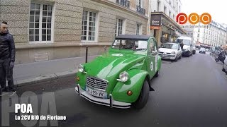 Citroën 2CV électrique : la 2 CV bio de Floriane