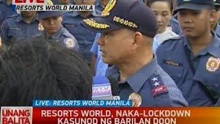 UB: Resorts World, naka-lockdown kasunod ng barilan doon