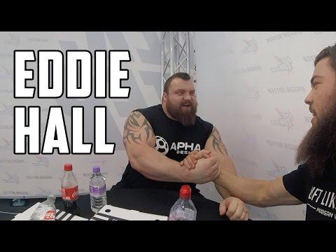 Eddie Hall Talks Thor Bjornsson & Strongman Recovery At FitCon 2017