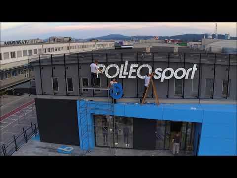 Branding Polleo Sport Megastore Ljubljana Slo Youtube