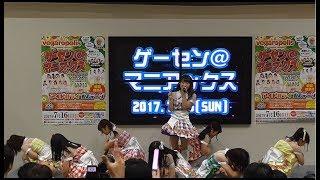 20170716 ゲーセン@マニアックス 北海道ご当地アイドル フルーティー.