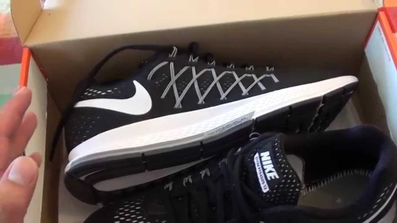 brand new 1464e 634ce Nike Air Zoom Pegasus 32 Black 2015 unboxing