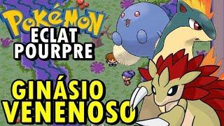 Pokémon Eclat Pourpre (Detonado - Parte 4) - Ginásio Venenoso e Esgotos Assassinos