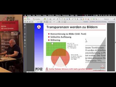 Optimale PDF-Druckvorlagen aus Office-Dokumenten