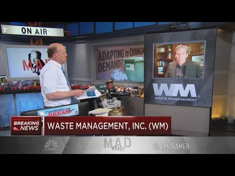 Waste Management CEO talks Q1 beat, trash collection during coronavirus