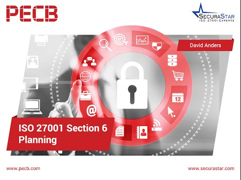 ISO 27001 Section 6 - Planning
