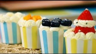 (Tinrry下午茶) 教你做紙杯蛋糕