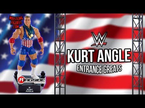 WWE FIGURE INSIDER: Kurt Angle - WWE Entrance Greats