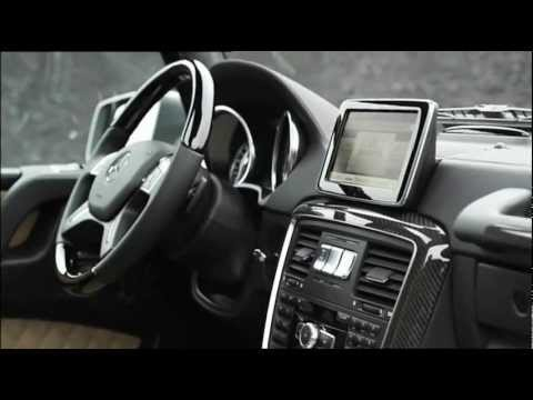Mercedes 2013 G 63 AMG Interior Trailer
