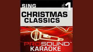 Christmas Song Chestnuts Karaoke Instrumental Track In the Style