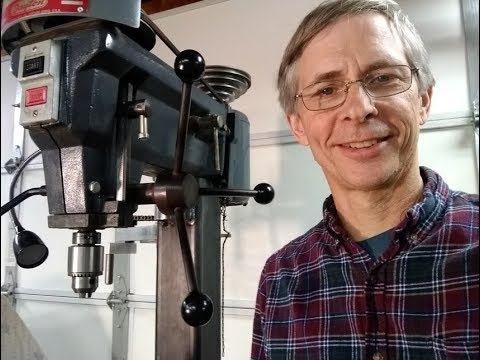 The DRILL PRESS FIX - A Square Column for your drill press - Part 1