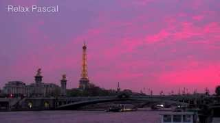 Relaxing music  - Relax with Paris sunset - meditation sleep study - Instrumental