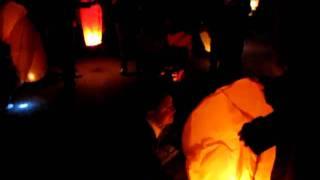 видео небесные фонарики ашан