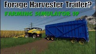 Forage Harvester Fs19