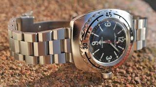 Обзор часов Восток Амфибия 090660.
