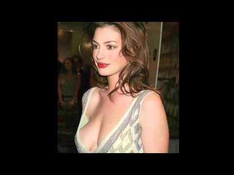 Anne Hathaway WET Nipple Poke thumbnail