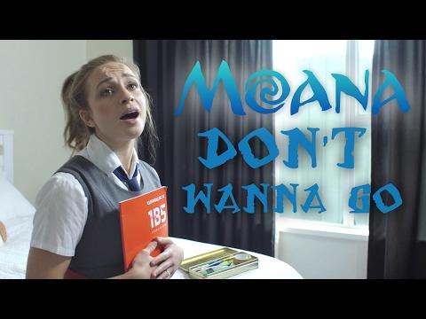 """Moana - How Far I'll Go [Parody] """"Don't Wanna Go"""""""