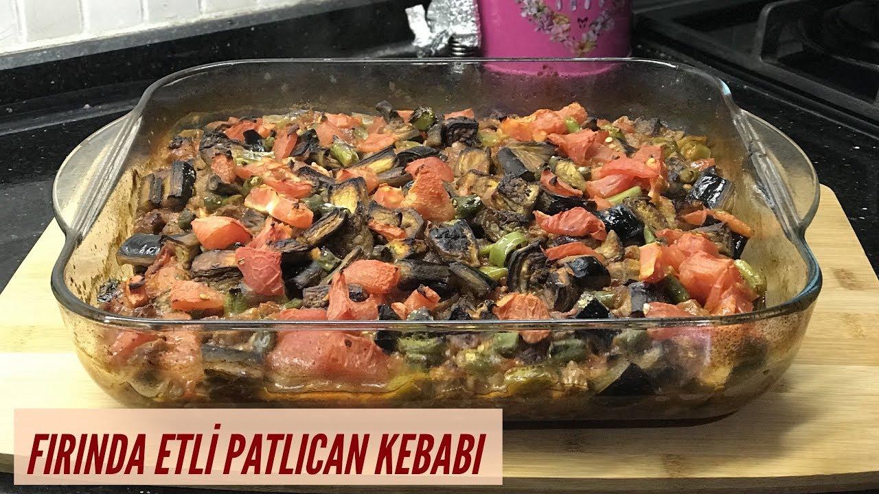 Fırında Etli Patlıcan Kebabı Nasıl Yapılır Video 97