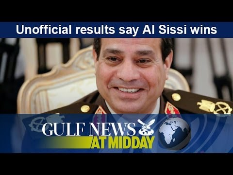 Unofficial results say Al Sissi wins Egypt elections - GN Midday