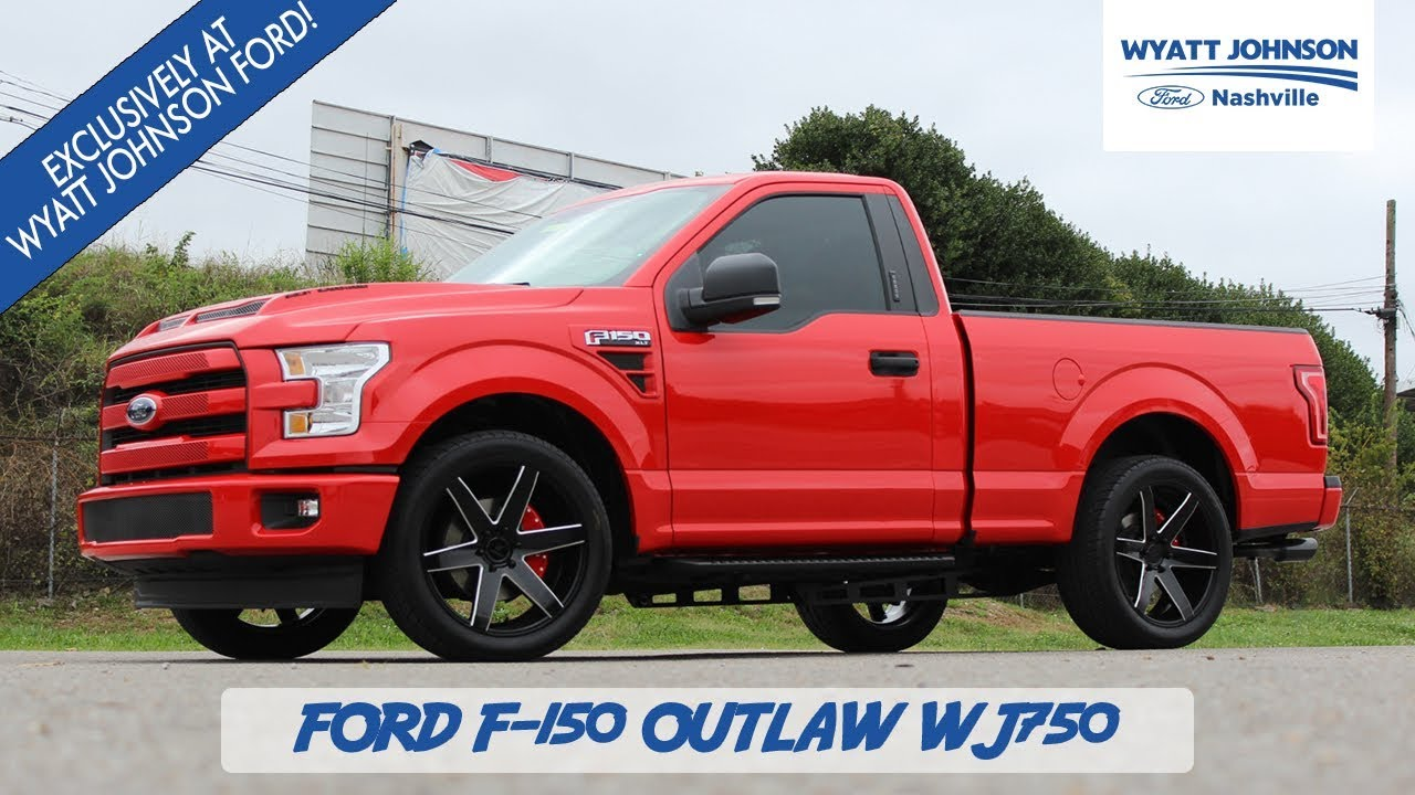 Exclusive Build 2017 Ford F 150 Outlaw Wj750 Shelby Supercharged