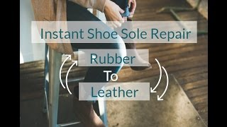 Best Glue for Rubber to Rubber| Leather to Rubber & Leather to Leather| Instant Shoe Sole repair
