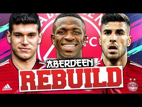 REBUILDING ABERDEEN!!! FIFA 19 Career Mode