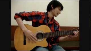 Akustik Gitar - Belajar Lagu (Pelangi Di Matamu - Jamrud)
