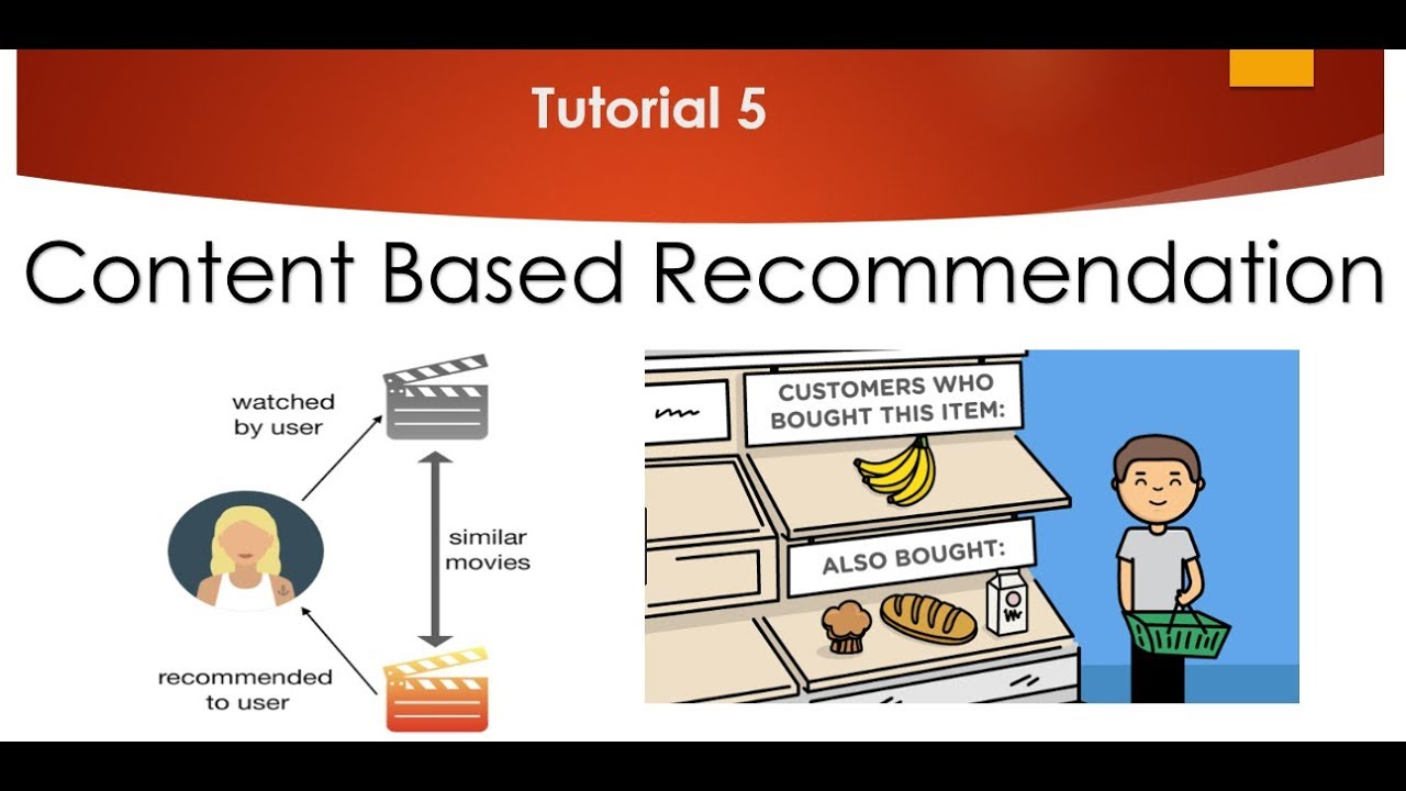 Tutorial 5- Content Based Recommendation System