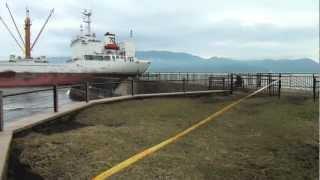 海難事故 沼津市沖の座礁船「第24大盛丸」の離礁作業は失敗しました