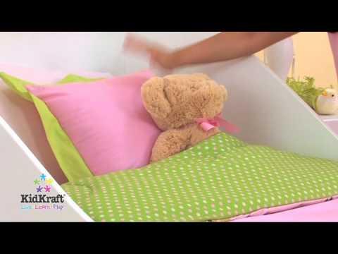 Kidkraft Sleigh Toddler Bed White