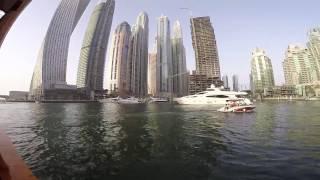 فلوق 4 من رحلة دبي / جولة بحرية في المرينا + هجولة في نادي الوصل الرياضي