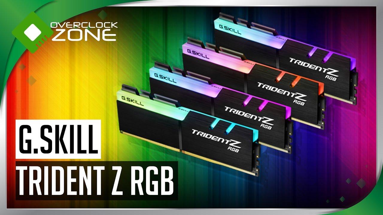 รีวิว G.SKILL TridentZ RGB DDR4-3600 8GBx4 (32GB) : Memory (RAM)