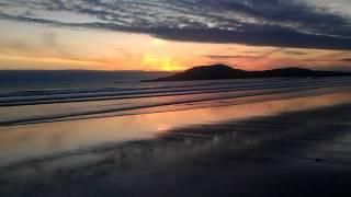 Sunset at Carrowniskey Beach in Co Mayo.