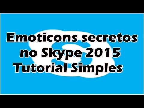 Conheça os Emojis SECRETOS do Skype | EASTER EGG DO SKYPE