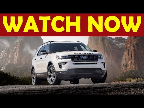 Watch Now! 2020 Ford Explorer to go RWD, new version and specification