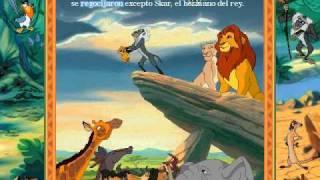 Libro Animado Interactivo: Rey León (Español - Parte 1)
