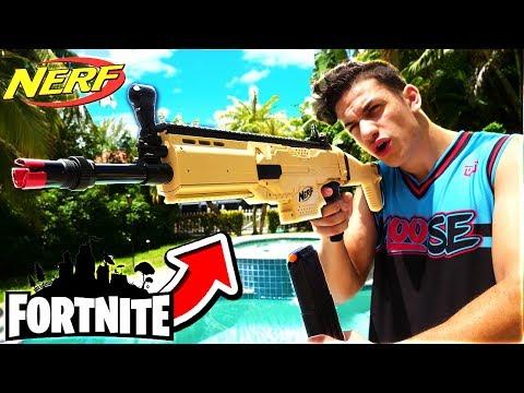 REAL FORTNITE SCAR NERF GUN! ($1000 NERF GUN)