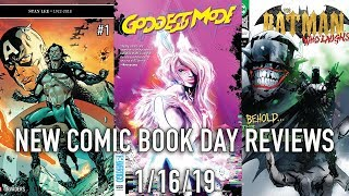 New Comic Book Day Reviews 1/16/19 - Spider-man, Invaders, Batman and more!