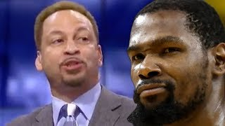 Kevin Durant Calls Out Chris Broussard For LYING About Texting For HOURS,
