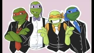 4 пацана-Черепашки ниндзя