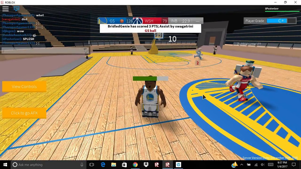 first gameplay hoops made by ufail2 youtube