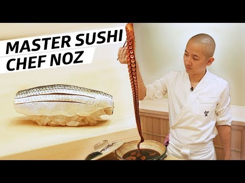 Master Sushi Chef 'Noz' Wants to Transport His Diners to Japan — Omakase