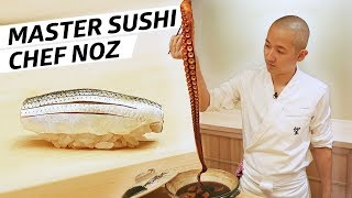 "Master Sushi Chef ""Noz"" Wants to Transport His Diners to Japan - Omakase"