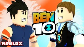 MAD BEN 10 vs BEN 23 In Roblox!! DefildPlays/w (Ben 10 arrivo di alieni)