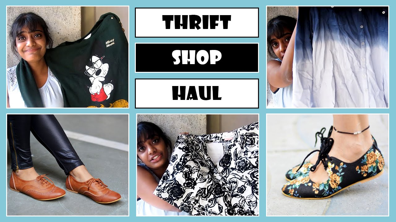 6c332f05b7c Thrift Shop Haul + Street Style Store (SSS) Review - YouTube