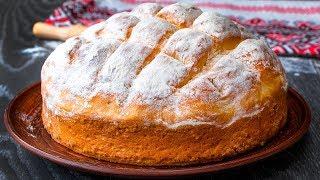 Всего 6 ингредиентов Простой рецепт вкусного домашнего хлеба с хрустящей корочкой Cookrate Русский