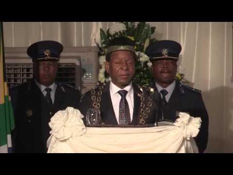 King Goodwill Zwelithini addresses KZN legislature